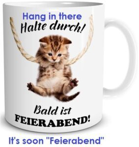 """may3 EN 283x300 - What is done is finished - """"Feierabend"""""""